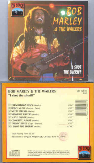Bob Marley - I Shot The Sheriff  ( On Stage )