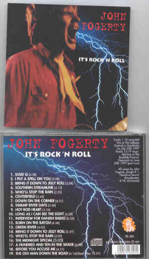 Creedence Clearwater Revival / John Fogerty - It's Rock and Roll ( Lollypop Festival , Stockholm , July 25th , 1997 + Roskilde , June 25th 1997 )