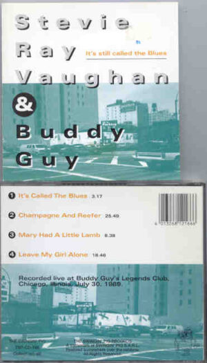 Buddy Guy - It's Still Called The Blues ( Swingin' Pig ) ( W/ Stevie Ray Vaughan in Chicago on July 30th , 1989 )