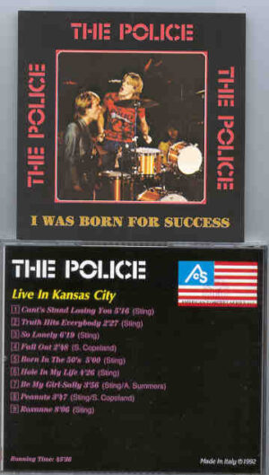 Sting / The Police - I Was Born For Success ( The Police ) ( Live In Kansas City )
