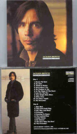 Jackson Browne - Oregon 1994 ( 2 CD!!!!! set ) ( Live in Oregon , March 1st , 1994 )