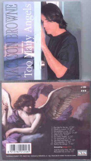Jackson Browne - Too Many Angels ( KTS ) ( Live On Tour 1993 )
