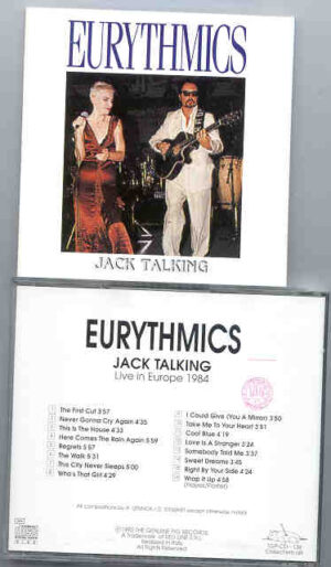 Eurythmics - Jack Talking ( Europe 1984 ) ( Swingin' Pig )