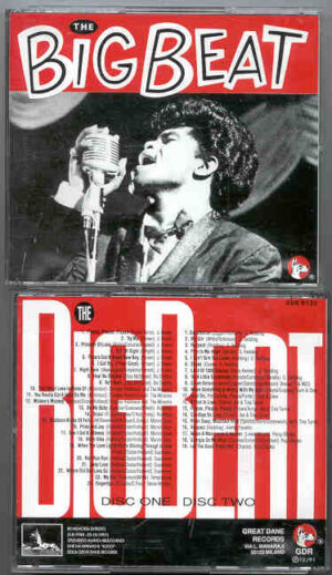 Otis Redding - The BIG BEAT ( 2 CD!!!!! set w / Marvin Gaye - Bo Diddley - J. Brown ) ( Great Dane )