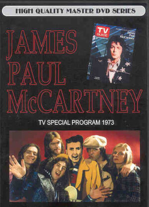 DVD Paul McCartney - James Paul McCartney ( TV Special Program 1973 )