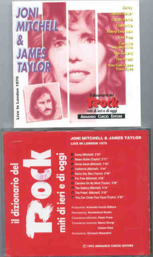 James Taylor - Live In London 1970 ( With Joni Mitchell )