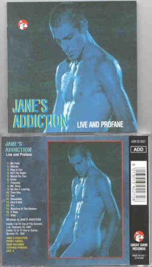 Jane s Addiction - Live And Profane  ( Great Dane )