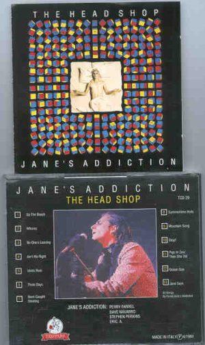 Jane s Addiction - The Head Shop    ( Templar )