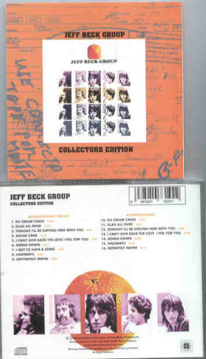 Jeff Beck - Jeff Beck Group Collector's Edition ( Quadraphonic And Alternate Mixes )