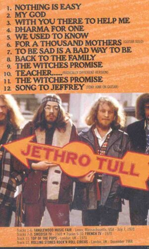 DVD Jethro Tull - To Be Sad Is A Bad Way To Be