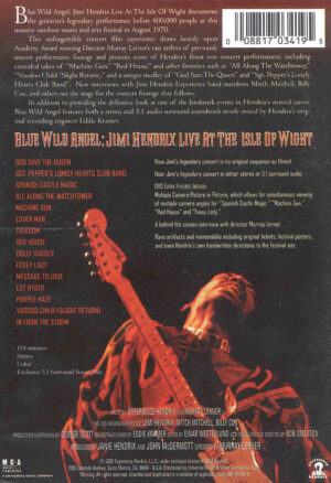 DVD Jimi Hendrix - Blue Wild Angel