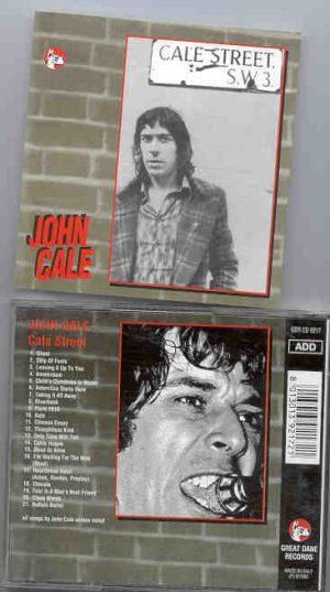 John Cale - Cale Street   ( Great Dane Recs. )