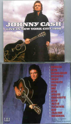 Johnny Cash - Live In New York City 1996