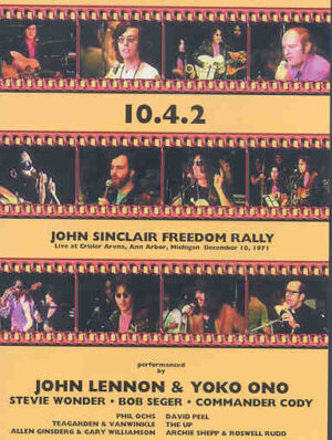 DVD John Lennon - John Sinclair's Freedom Rally