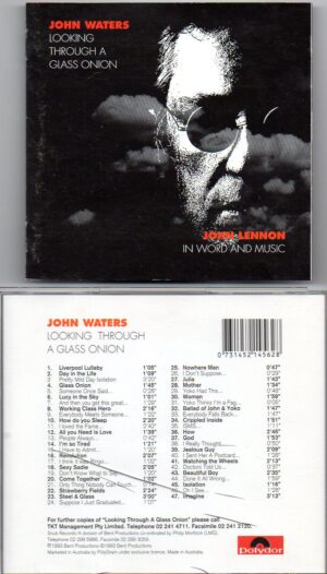 John Waters - Looking Through A Glass Onion ( John Lennon in word and music )