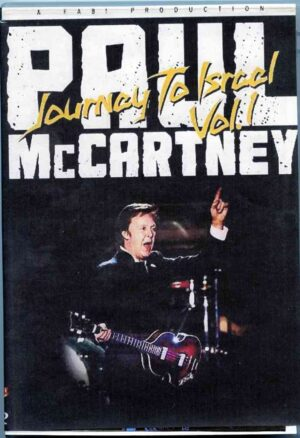 DVD Paul McCartney - Journey To Israel