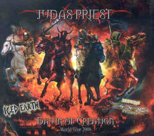 Judas Priest - Iced Earth ( 2 CD!!!!! SET ) ( Phillipshalle , Dusseldorf , Germany , June 24th , 2008 )
