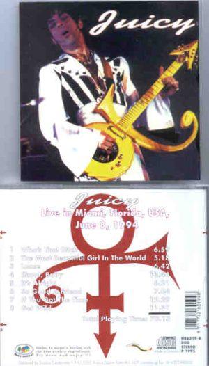 Prince - Juicy ( Live In Miami , Florida , USA , June 8th , 1994 )
