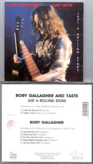 Rory Gallagher - Just A Rolling Stone ( Swingin' Pig ) ( Basel & Amsterdam 1970)
