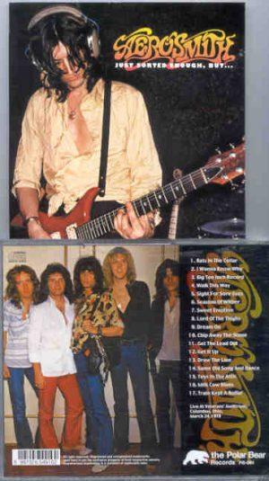 Aerosmith - Just Sorted Enough , But...  ( Veteran's Auditorium , Columbus , Ohio , March 24th , 1978 )