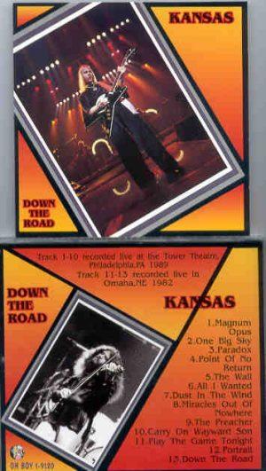 Kansas - Down The Road ( Oh Boy ) ( Tower Theater , Philadelphia , PA , 1989 )
