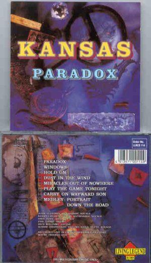 Kansas - Paradox ( Living Legend ) ( Omaha , NE & Ft Wayne , IN , USA , 1982 )