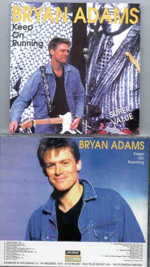 Bryan Adams - Keep On Running ( On Stage Recs )
