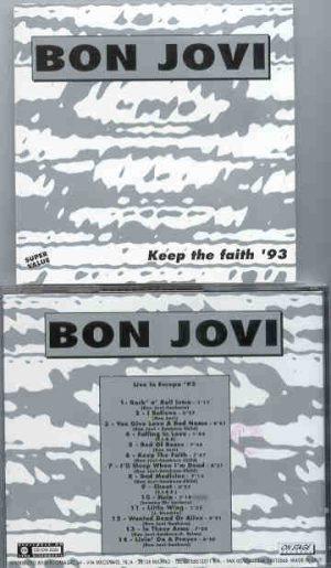 Bon Jovi - Keep The Faith '93 ( On Stage )