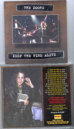 The Doors - Keep The Fire Alive ( Power Plant 1993 )