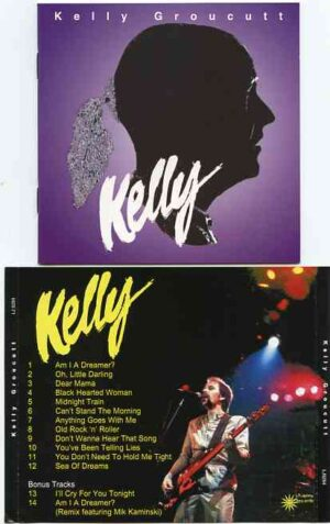 Electric Light Orchestra - Kelly ( Kelly Groucutt's Album on CD )