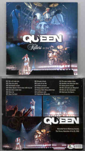Queen - Killers ( Live in Montreal , Canada , November 24th & 25th , 1981 )