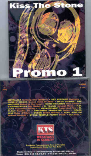 Various Artists - K.T.S. ( Kiss The Stone ) Promo One  ( KTS )