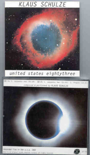 Klaus Schulze - United States Eightythree ( 2 CD!!!!! set ) ( Silver Rarities ) ( Live in USA 1983 )