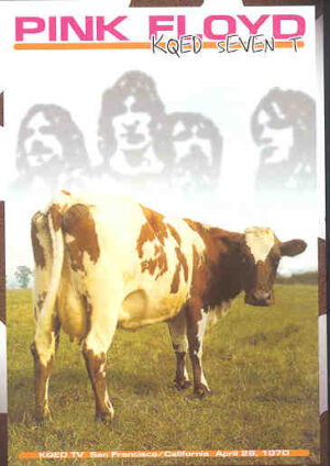 DVD Pink Floyd - KQED Seven T