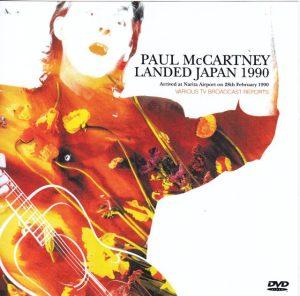 DVD Paul McCartney - Landed Japan 1990 ( Arrived At Narita Airport Feb 28th , 1990 , Various TV Broadcasts Reports ) ( DVD )