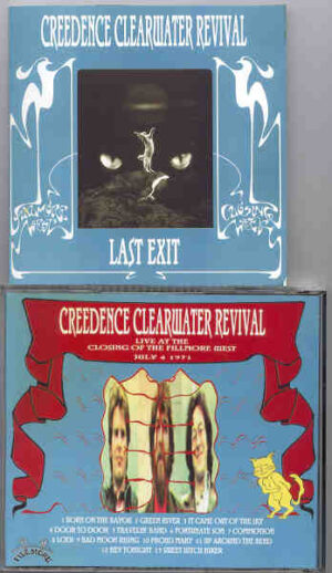 Creedence Clearwater Revival / John Fogerty - Last Exit ( Closing of Fillmore West , July 4th , 1971 )