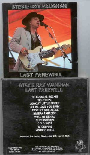 Stevie Ray Vaughan - Last Farewell ( Swingin' Pig ) ( Live during Stevie's Last Tour , in 1990 )