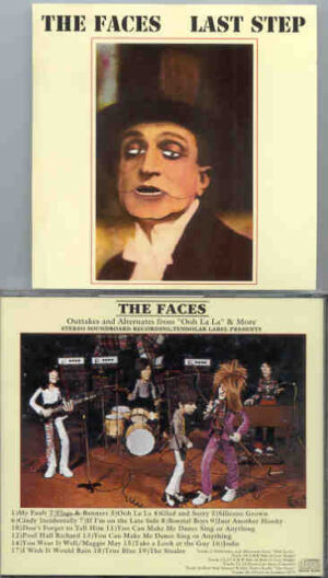 """The Face / Rod Stewart - Last Step ( Outtakes From The Faces """"Ooh La La """" and More )"""