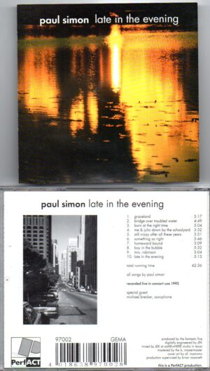 Simon & Garfunkel - Late In The Evening ( Paul Simon Live In Concert 1992 in the USA )