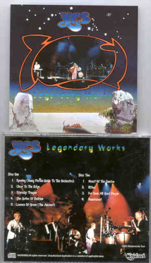 Yes - Legendary Works ( Highland ) ( 2 CD!!!!! SET ) ( Recorded Live During the 2000 Masterworks Tour )