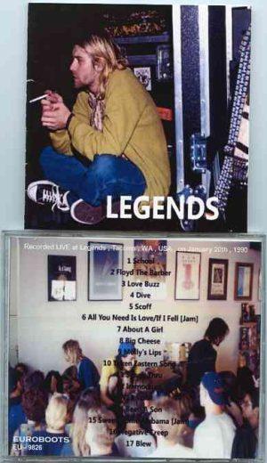 Nirvana - Legends ( Live at Legends , Tacoma , WA , USA , January 20th , 1990 )