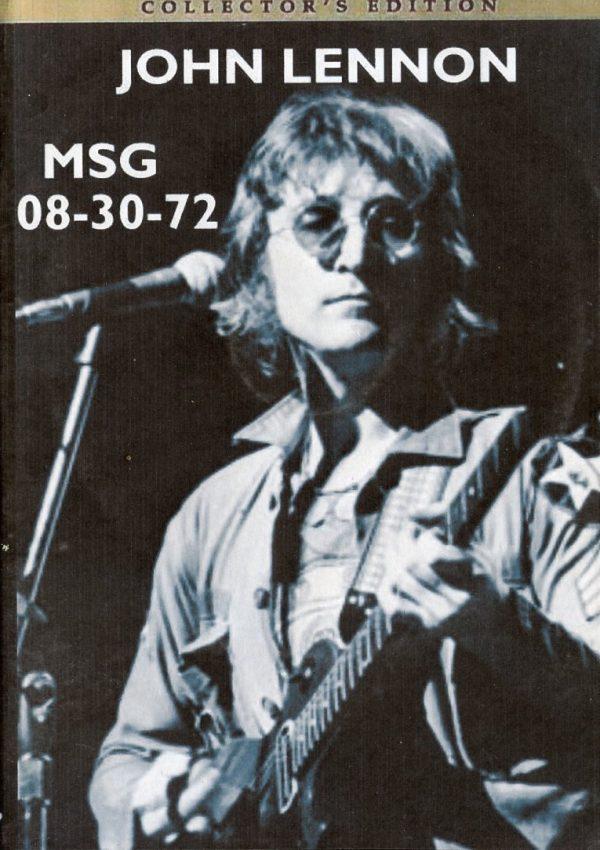 DVD John Lennon - M.S.G 08 - 30 -72