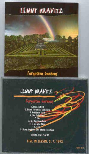 Lenny Kravitz - Forgotten Gardens ( Live in Leysin 5/7/1992 )