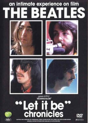 DVD The Beatles - Let It Be Chronicles ( 3  DVD SET )
