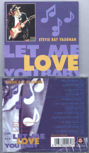 Stevie Ray Vaughan - Let Me Love You Baby ( Nichols Arena , Denver , USA , 1989 ) ( Big Music )