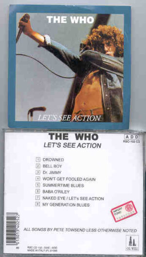 The Who - Let's See Action ( London , UK , May 18th , 1974 vol. 2 ) ( Oil Well )