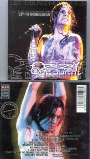 Black Sabbath - Let The Madness Begin ( KTS ) ( 2 CD!!!!! set ) ( Live in Santiago , Chile , September 9th , 1995 )