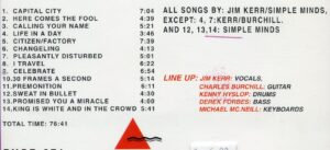 Simple Minds - Life In A Day ( Live in Groningen , Holland , December 28th , 1980 ( Triangle )