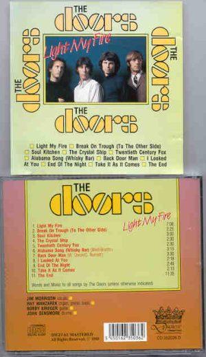 The Doors - Light My Fire  ( Duchesse )