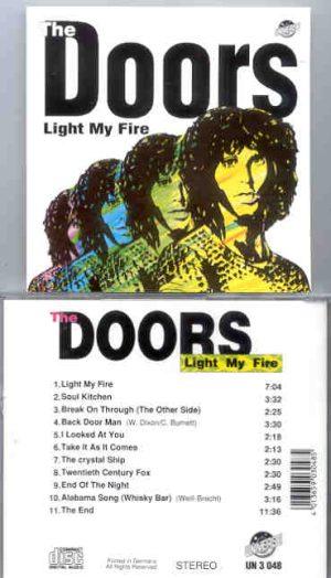 The Doors - Light My Fire  ( Universe )